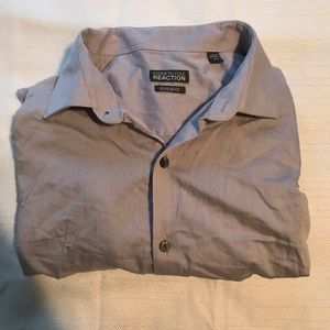 Kenneth Cole Reaction Mens Long Sleeve Button Up